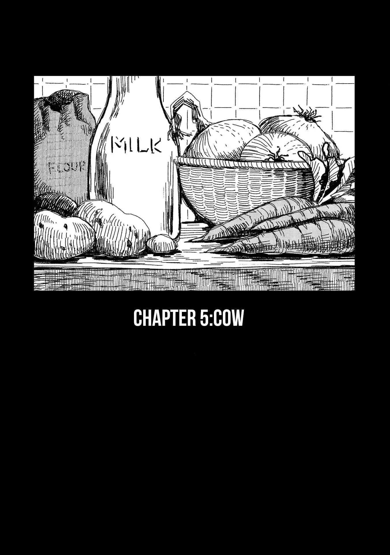Rojica To Rakkasei Chapter 5: Cow page 1 - Mangakakalots.com