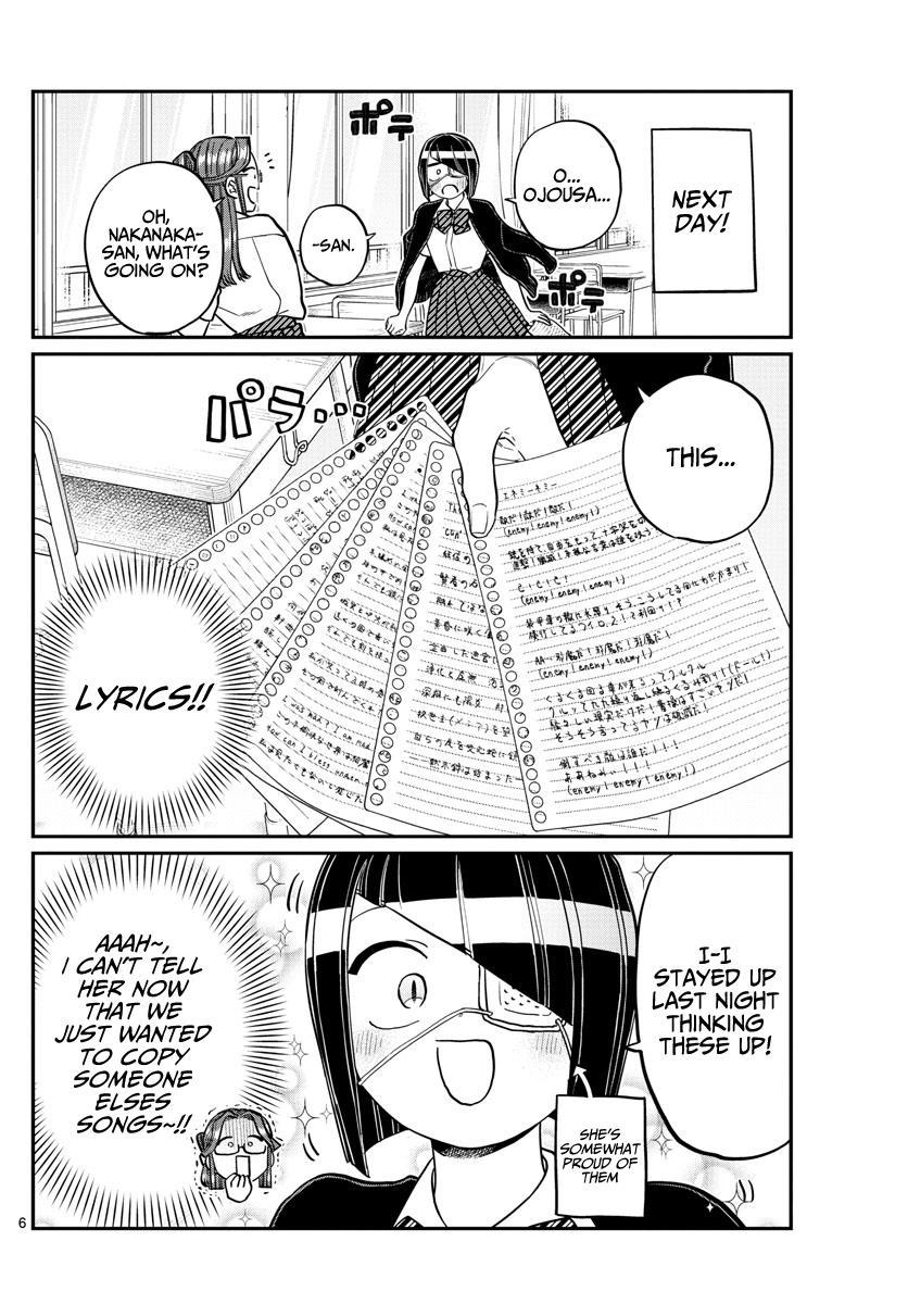 Komi-San Wa Komyushou Desu Chapter 235: Band page 6 - Mangakakalot
