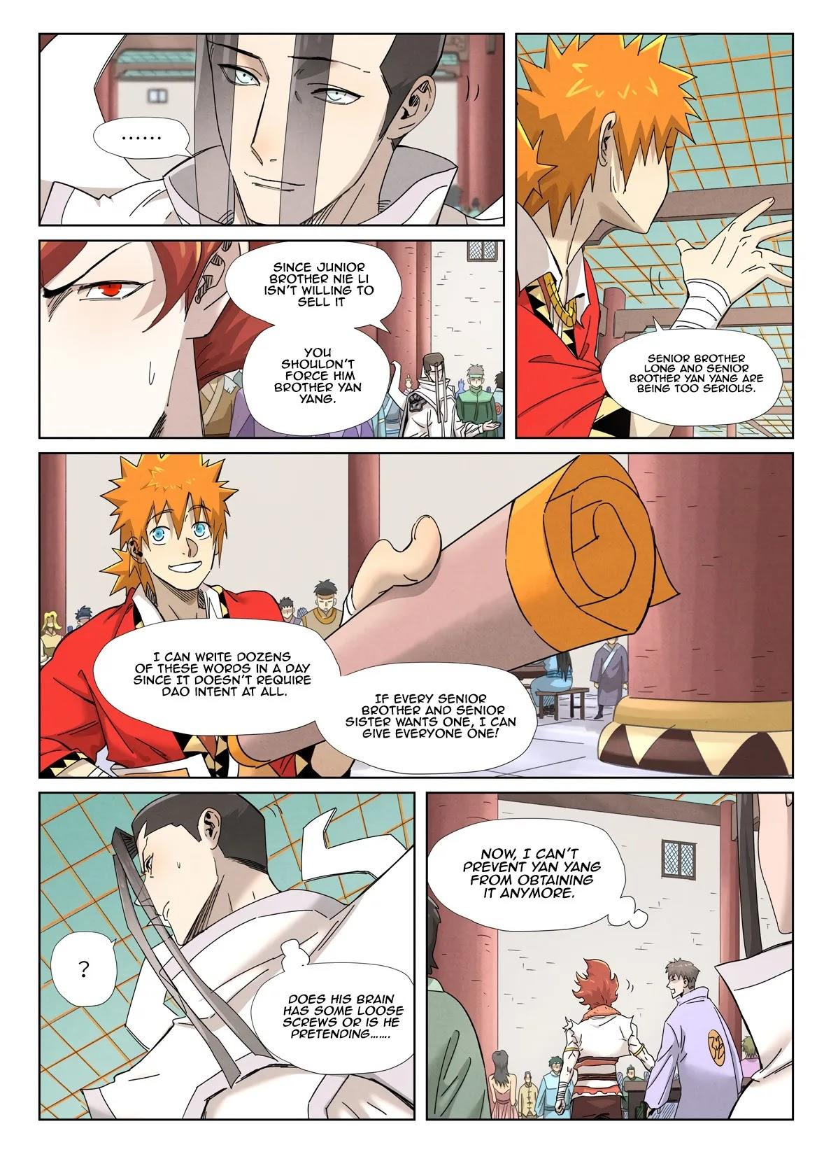 Tales Of Demons And Gods Chapter 342.1 page 5 - Mangakakalot