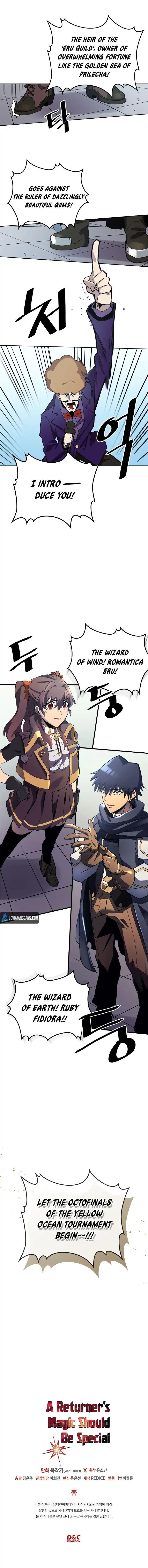A Returner's Magic Should Be Special Chapter 77 page 9 - Mangakakalots.com