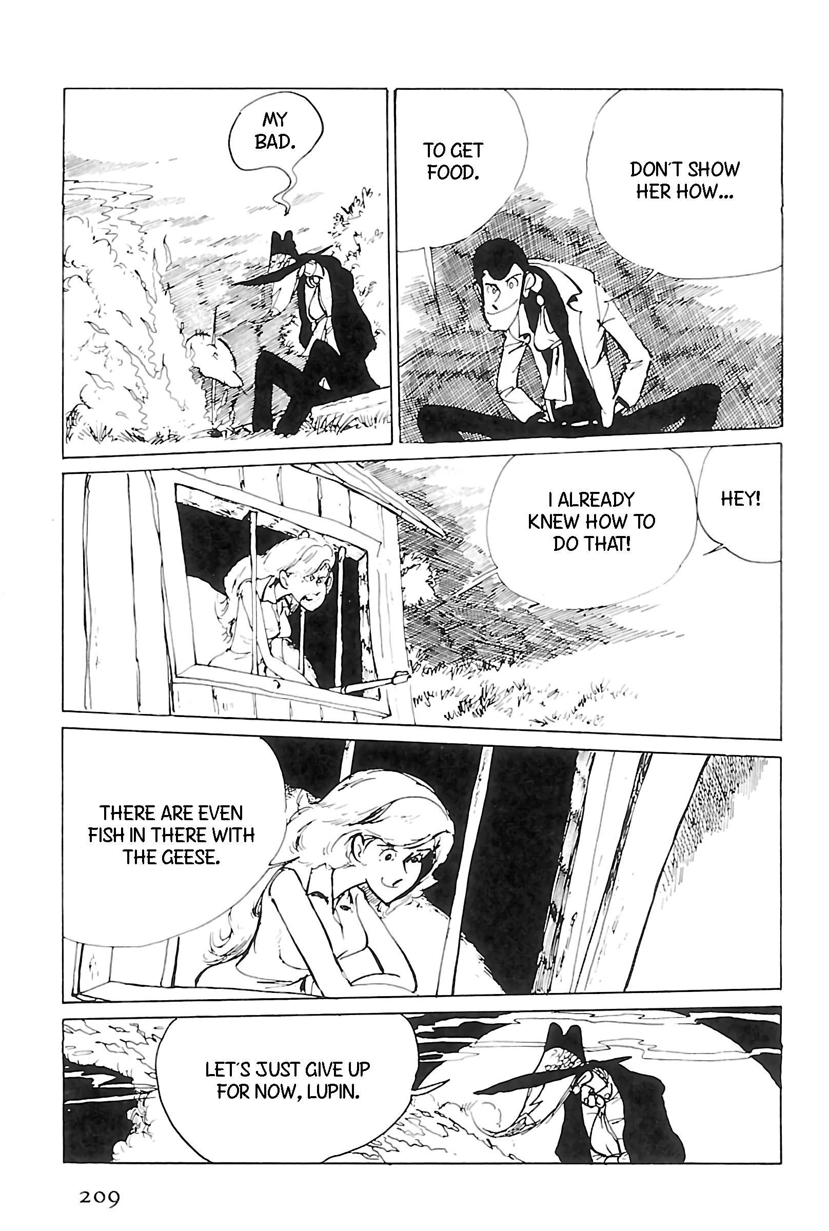 Lupin Iii: World'S Most Wanted Vol.11 Chapter 125: A Play In One Jigen page 13 - Mangakakalots.com