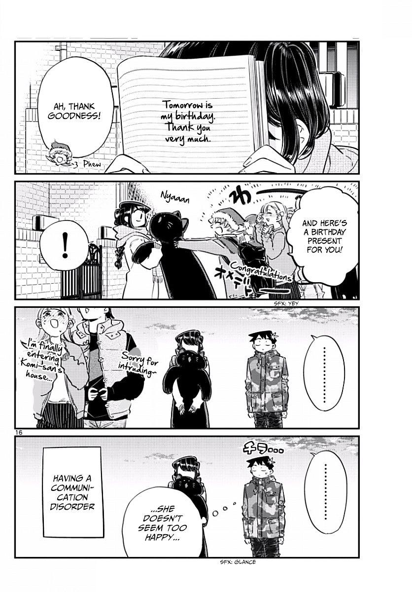 Komi-San Wa Komyushou Desu Vol.7 Chapter 87: Merry Christmas... page 2 - Mangakakalot