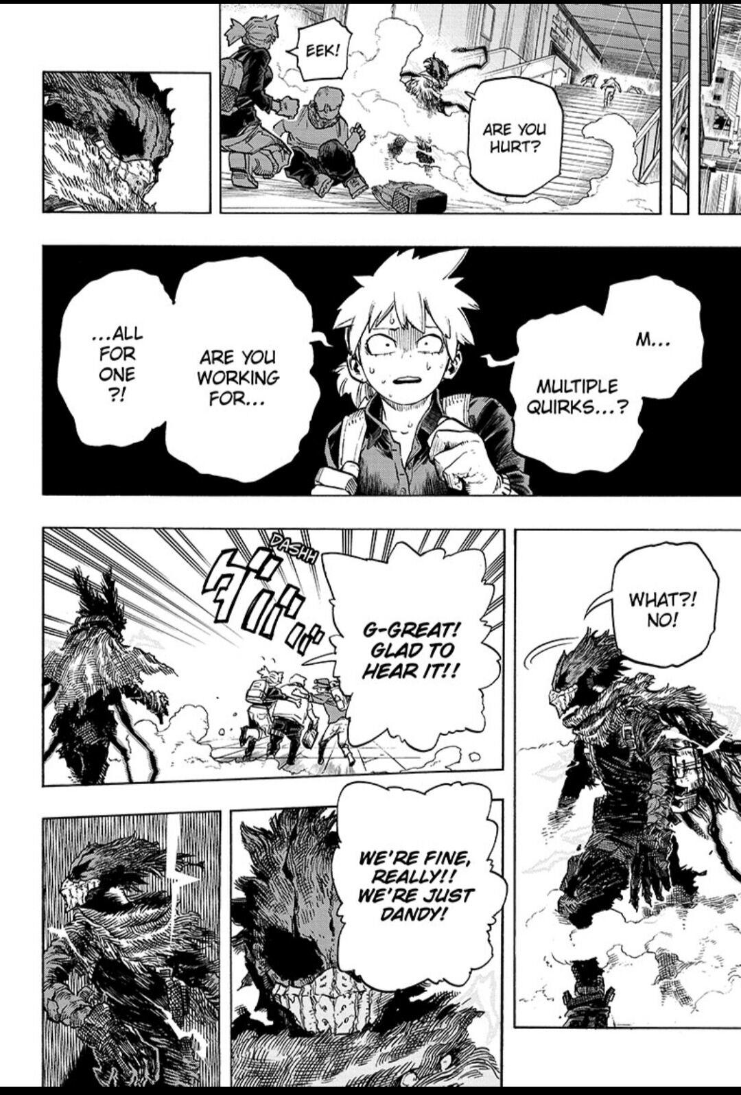 Boku No Hero Academia Chapter 318 page 6 - Mangakakalots.com
