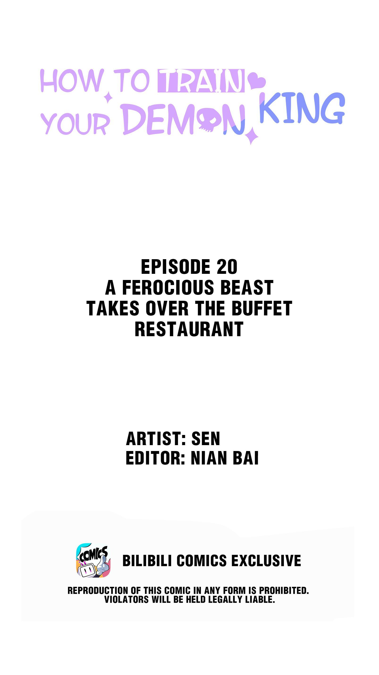 How To Train Your Demon King Chapter 20: A Ferocious Beast Takes Over The Buffet Restaurant page 2 - Mangakakalots.com