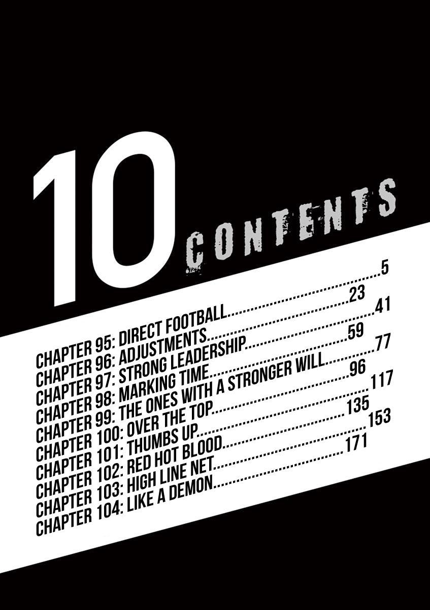 Ao Ashi Vol.10 Chapter 95: Direct Football page 6 - Mangakakalots.com