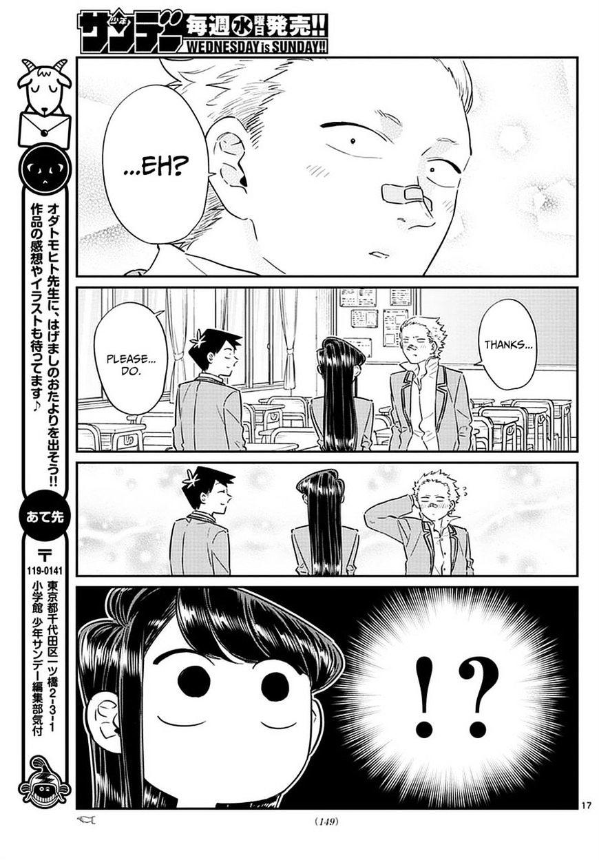 Komi-San Wa Komyushou Desu Vol.6 Chapter 76: A Delinquent page 17 - Mangakakalot