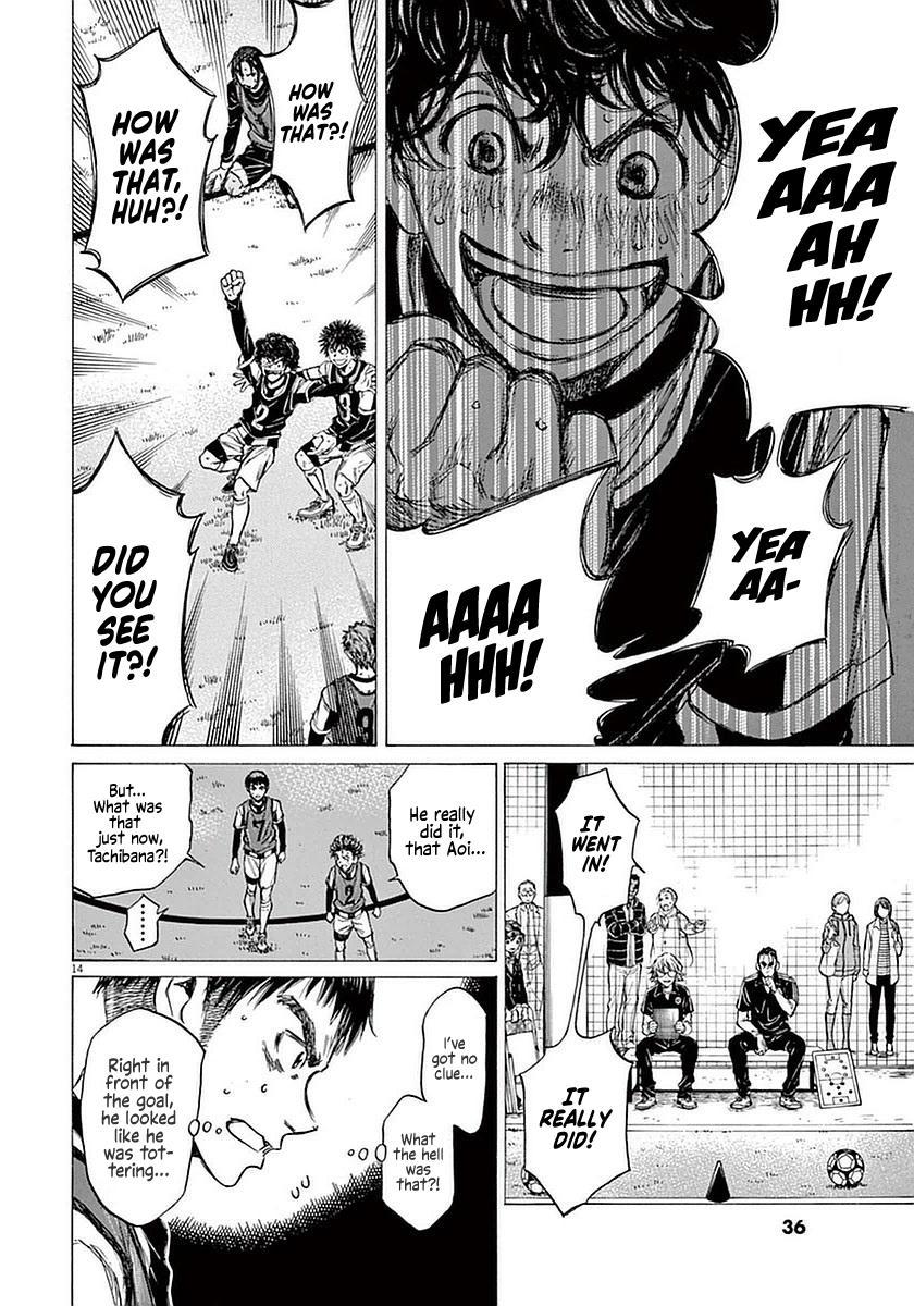 Ao Ashi Vol.4 Chapter 30: Walk page 13 - Mangakakalots.com