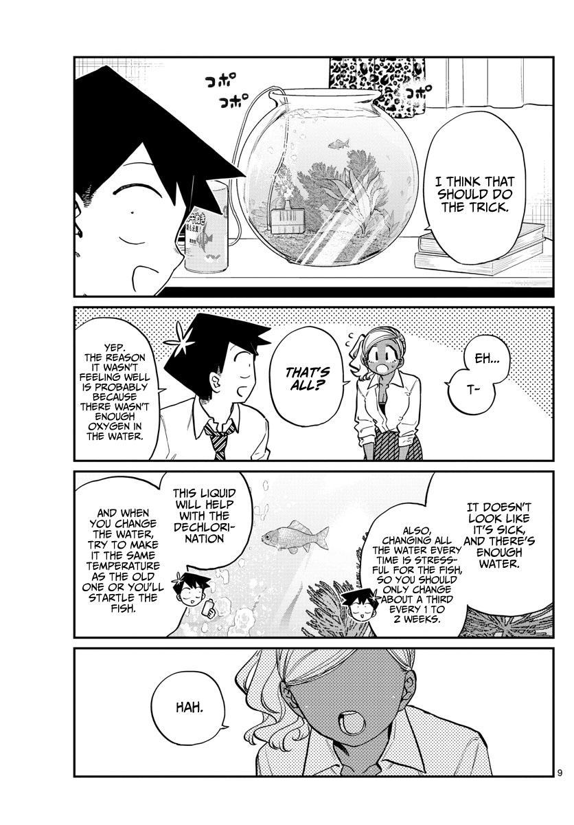 Komi-San Wa Komyushou Desu Chapter 217: Goldfish page 9 - Mangakakalot