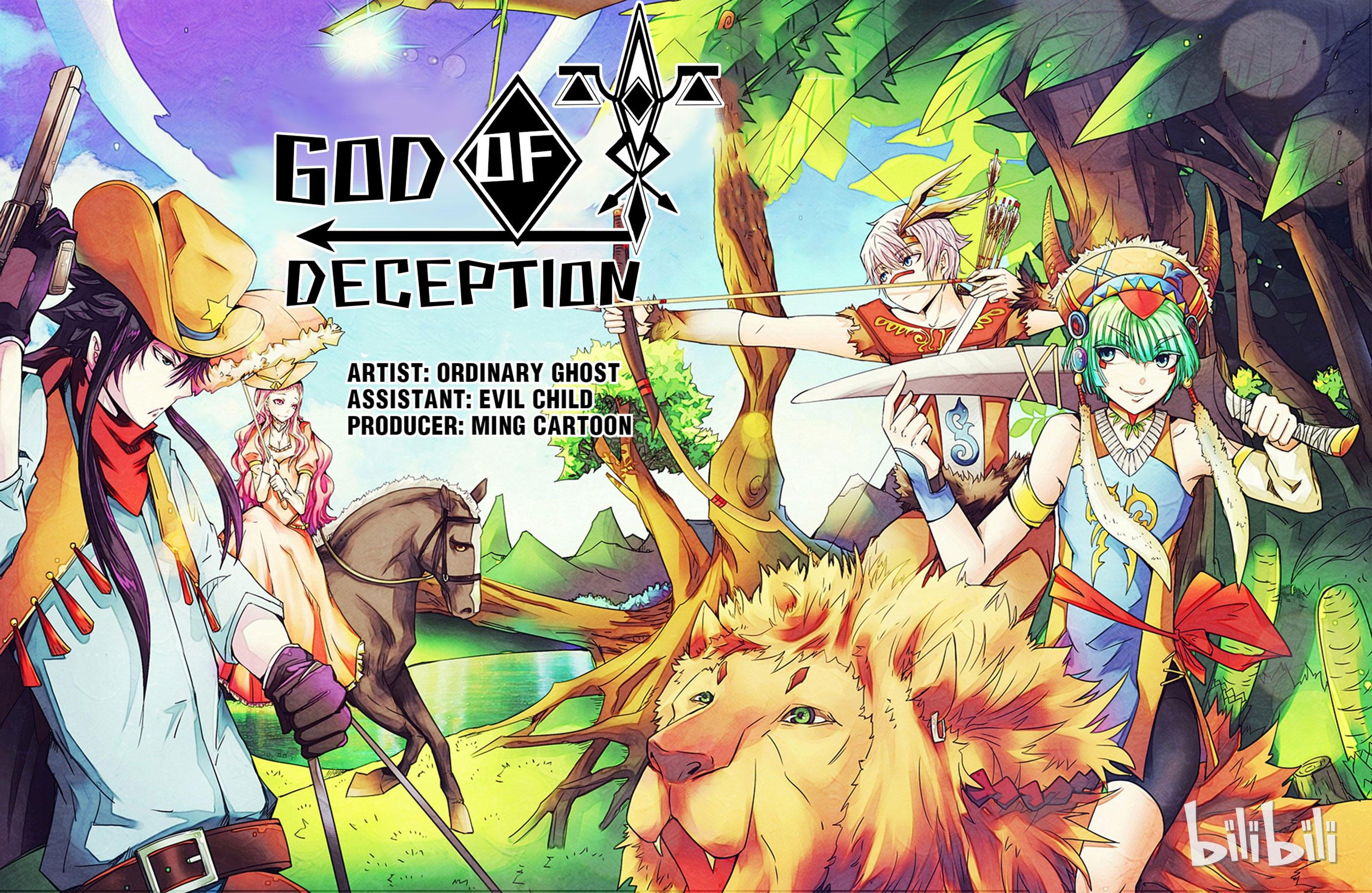 God Of Deception Chapter 25: Scroll 1: Deception Supervisors - Hunting (I) page 1 - Mangakakalots.com