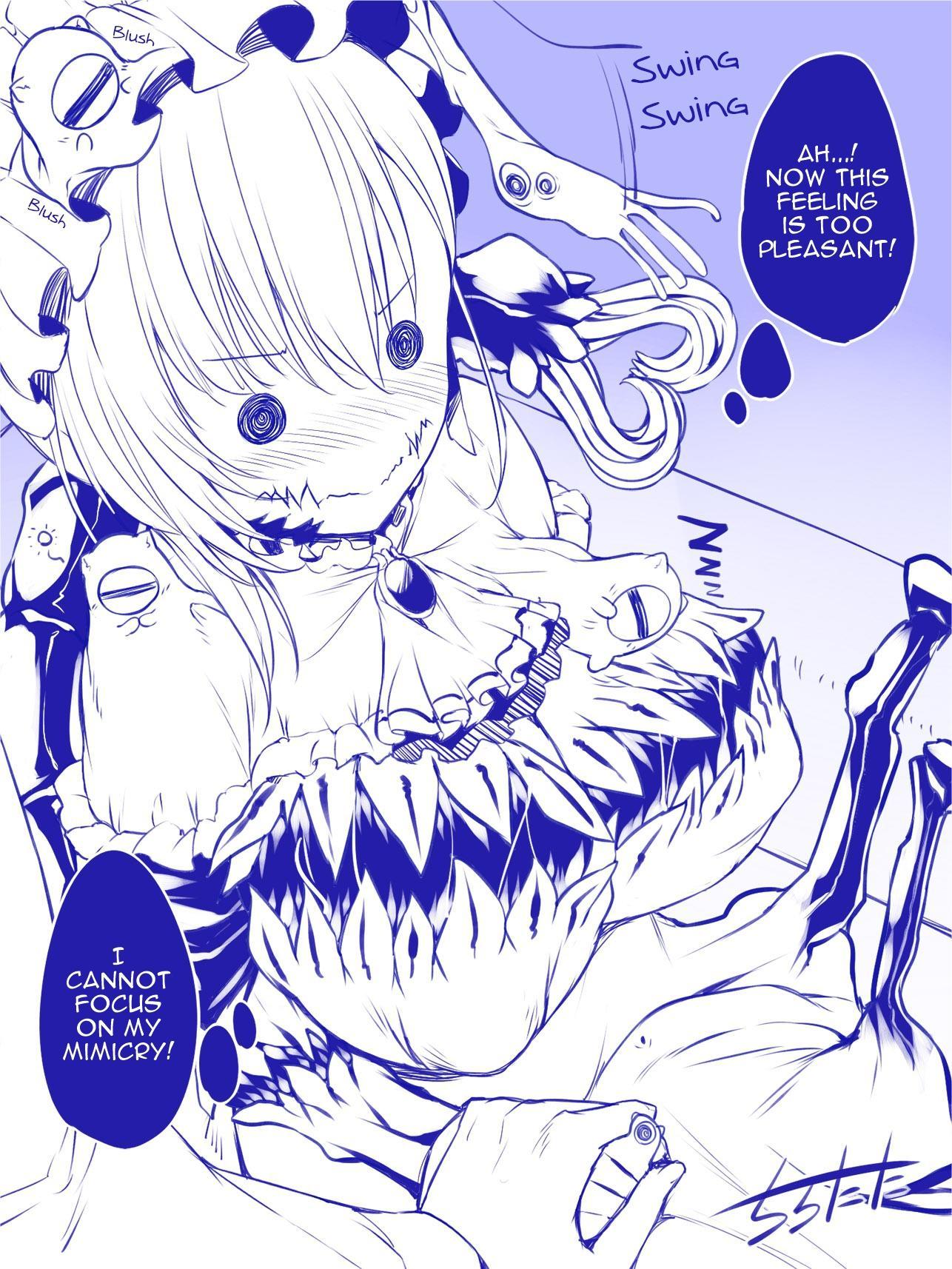 Mimic Girl Chapter 23: Dis And A Pleasant Feeling page 4 - Mangakakalots.com