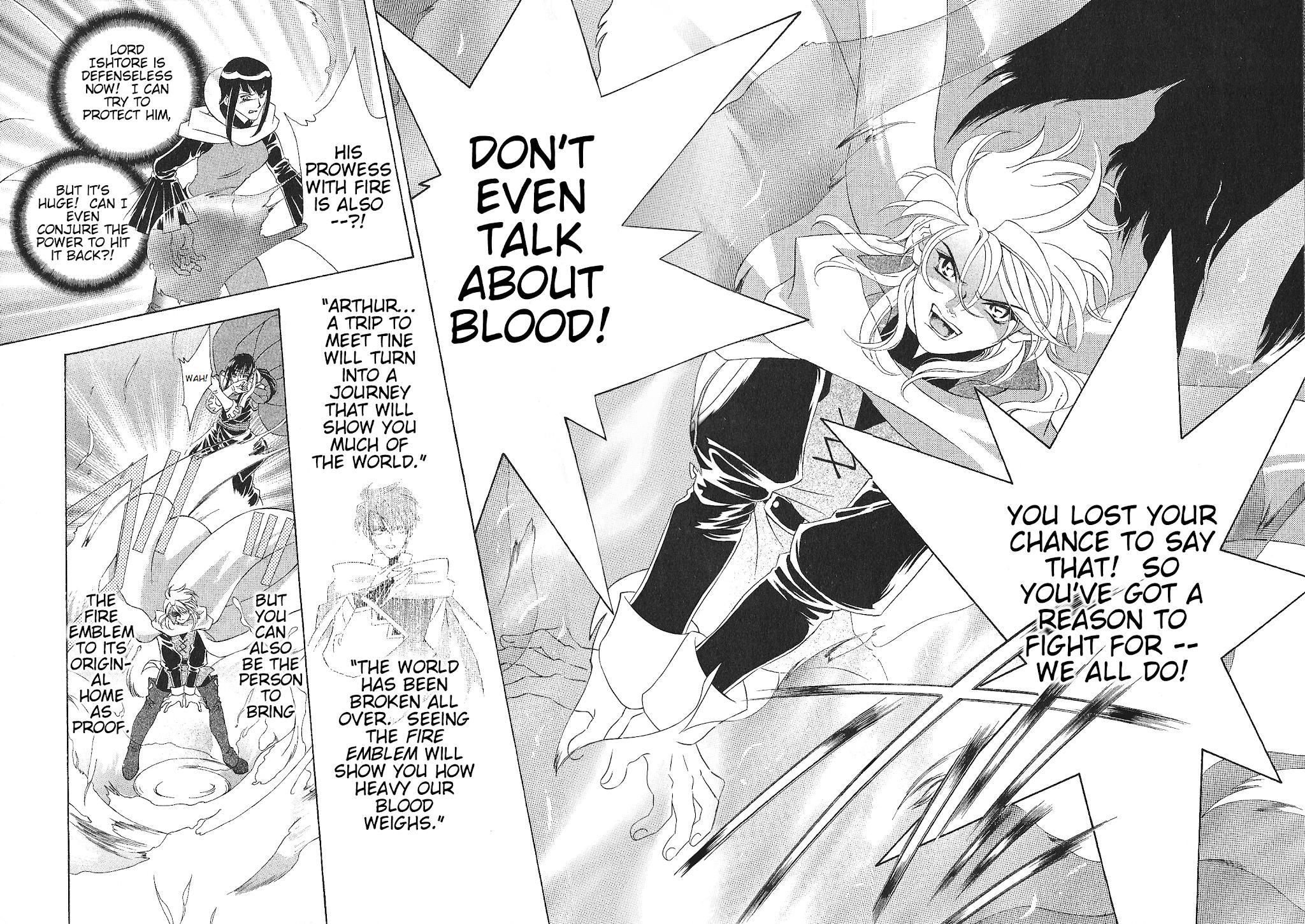 Fire Emblem: Seisen No Keifu Chapter 71 page 13 - Mangakakalots.com