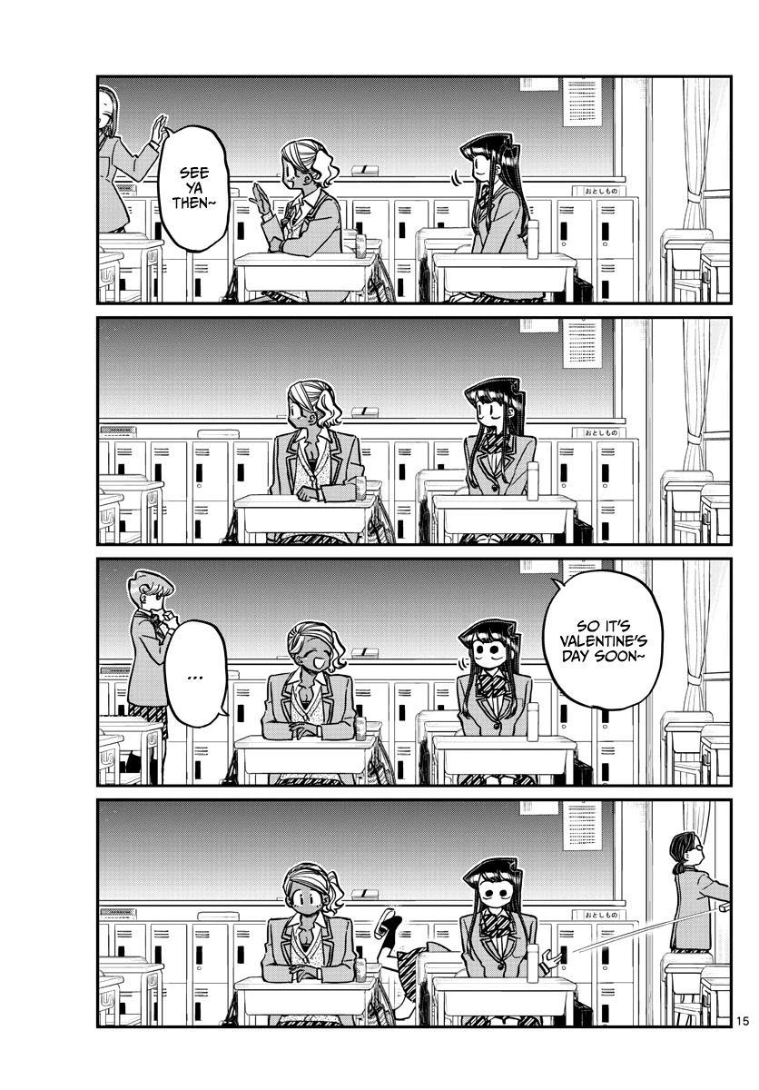 Komi-San Wa Komyushou Desu Chapter 298 page 15 - Mangakakalot
