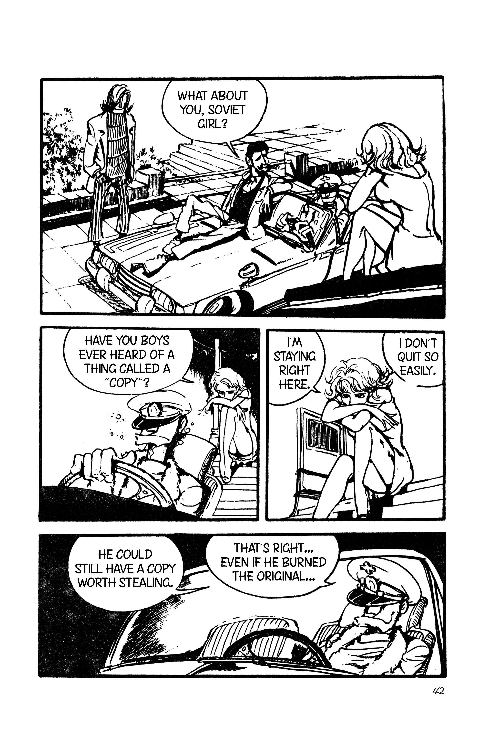 Lupin Iii Vol.9 Chapter 101: International Thievery Competition (Part 2) page 12 - Mangakakalots.com