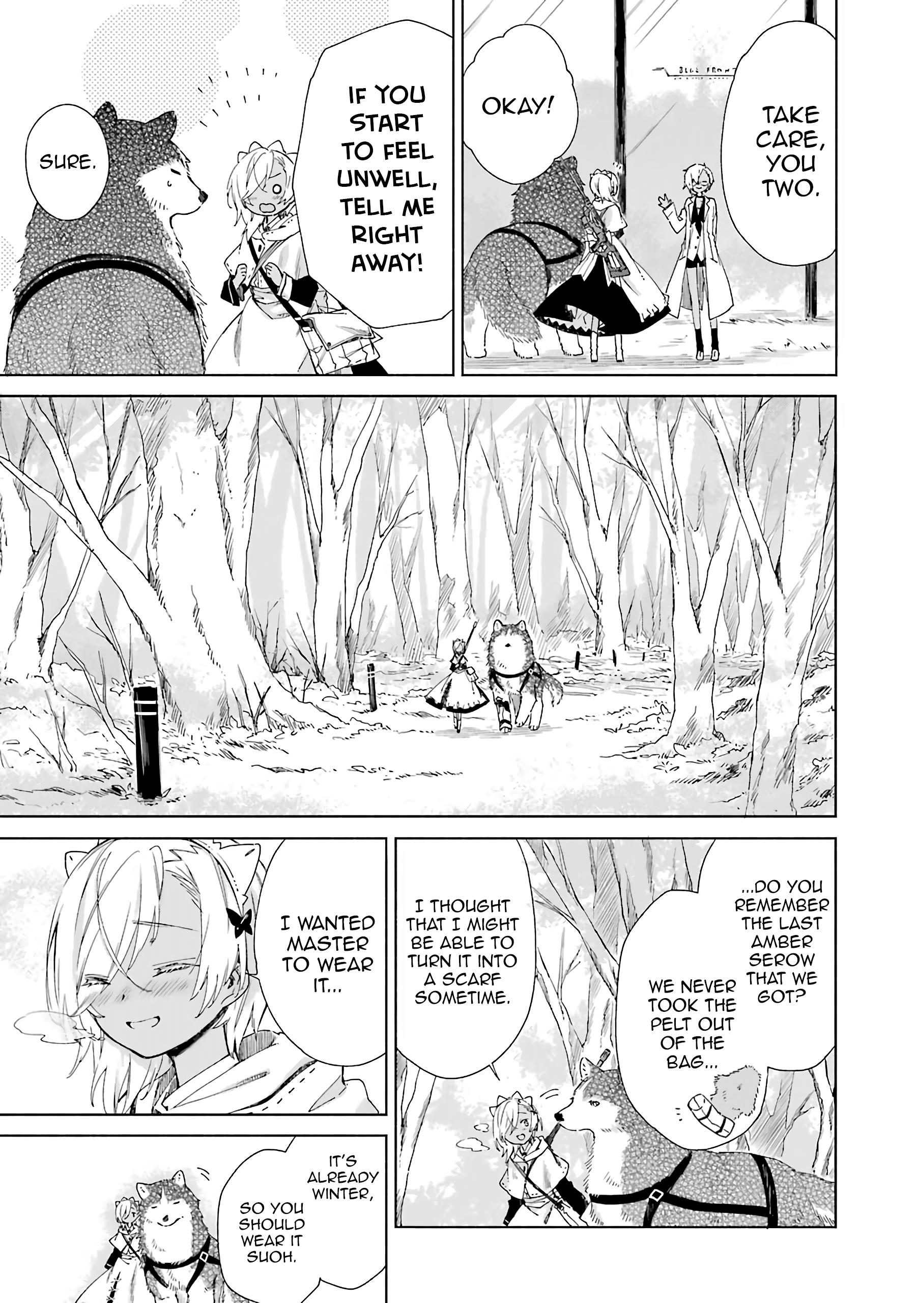 Our Lives After The Apocalypse Vol.3 Chapter 16: Departure page 14 - Mangakakalots.com