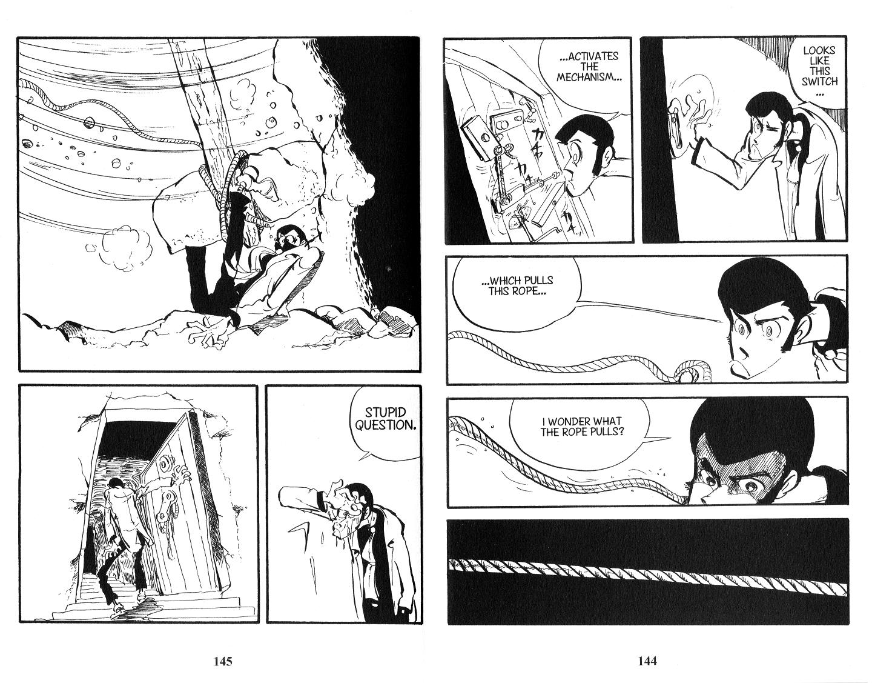 Lupin Iii Vol.13 Chapter 103: A Treasure To Serve page 8 - Mangakakalots.com