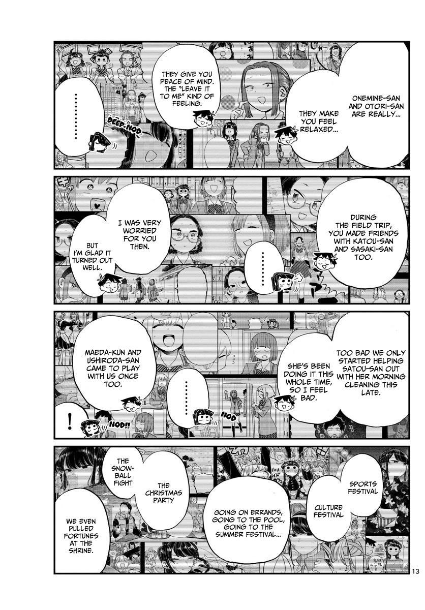 Komi-San Wa Komyushou Desu Vol.10 Chapter 129: One Year page 13 - Mangakakalot