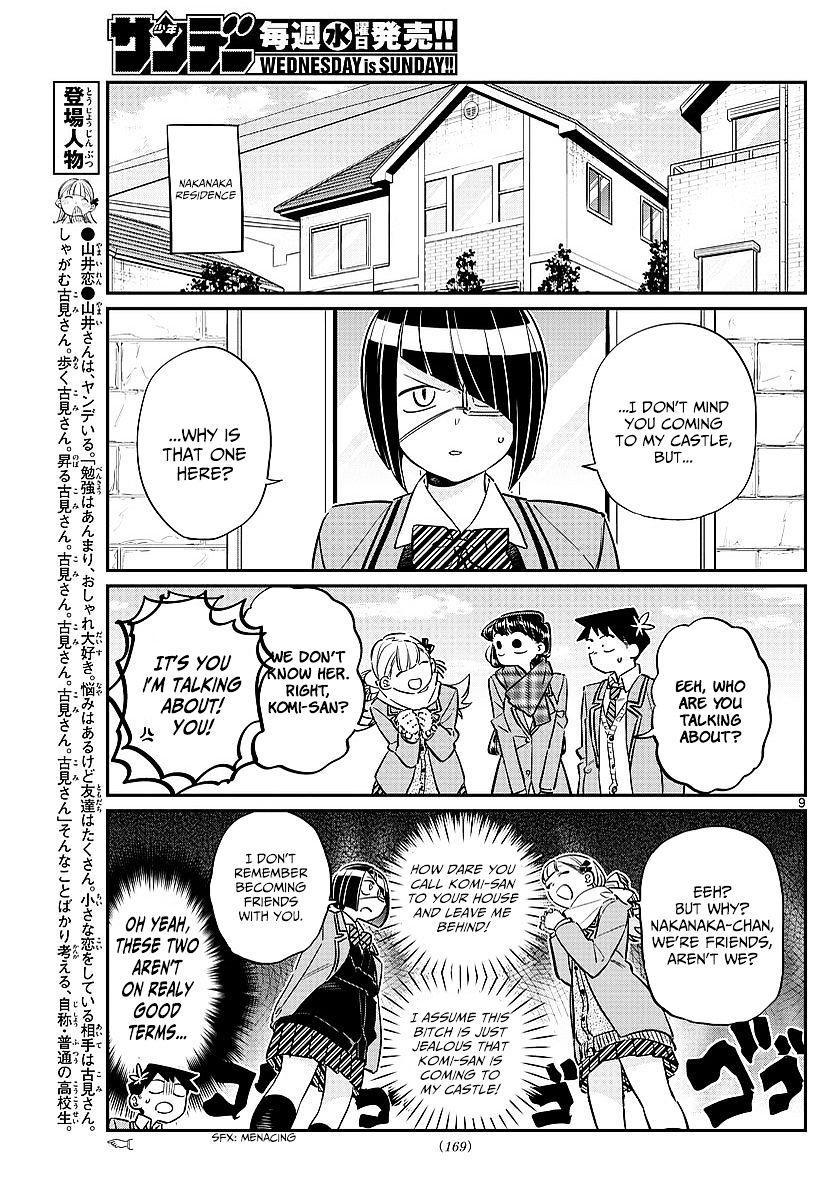 Komi-San Wa Komyushou Desu Vol.6 Chapter 79: Studying At Nakanaka-San's Place page 3 - Mangakakalot