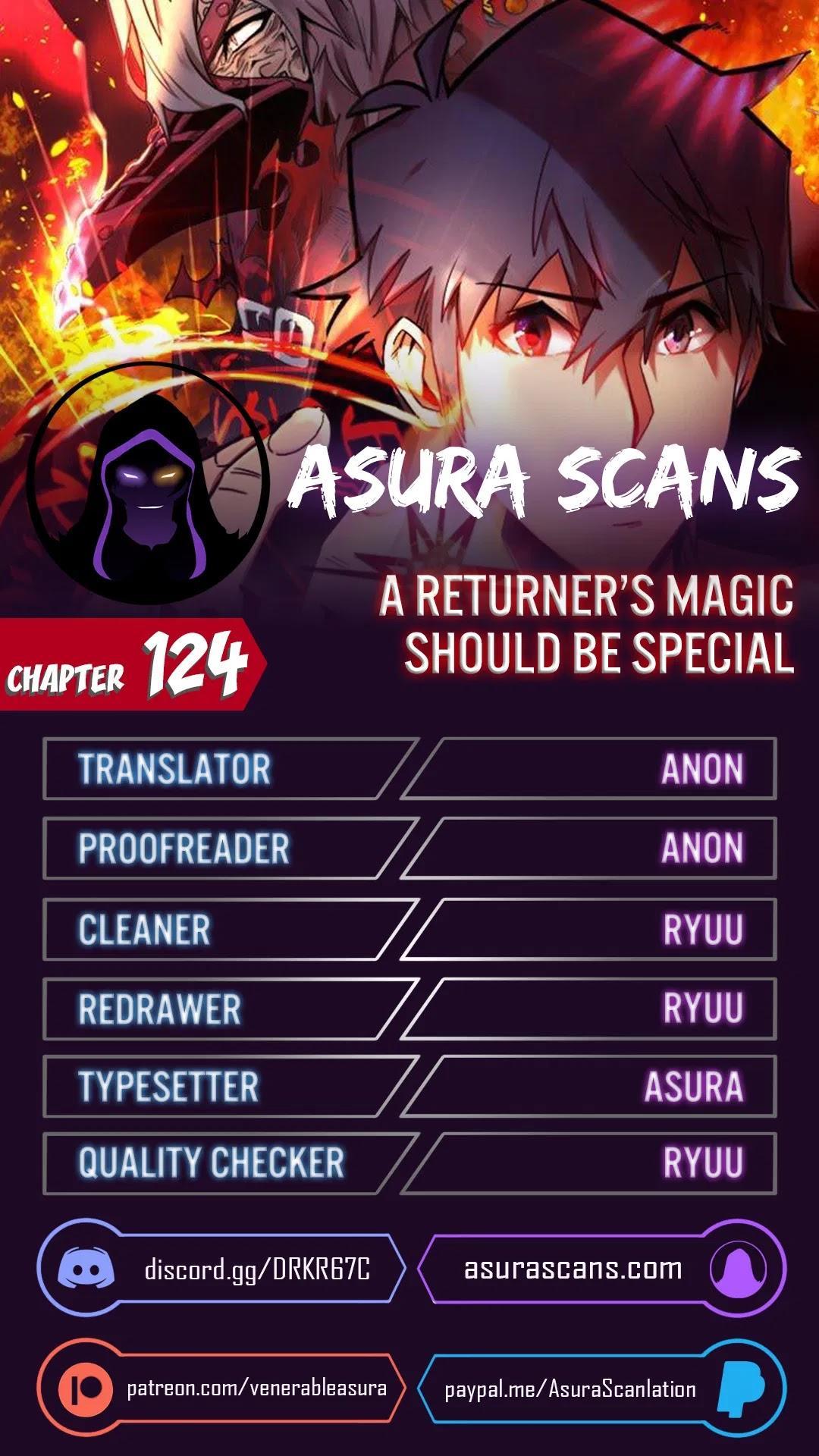 A Returner's Magic Should Be Special Chapter 124 page 1 - Mangakakalots.com