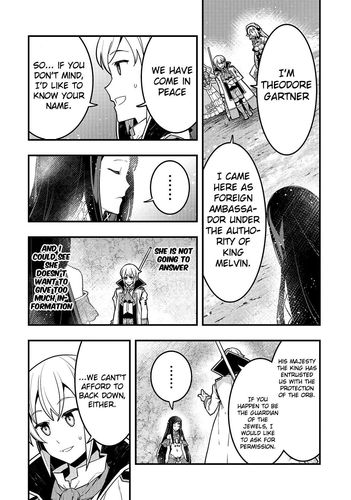 Kyoukai Meikyuu To Ikai No Majutsushi Chapter 33 page 5 - Mangakakalots.com