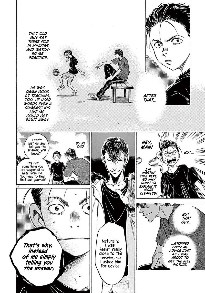 Ao Ashi Vol.4 Chapter 38: The Spartan Pompadour page 14 - Mangakakalots.com