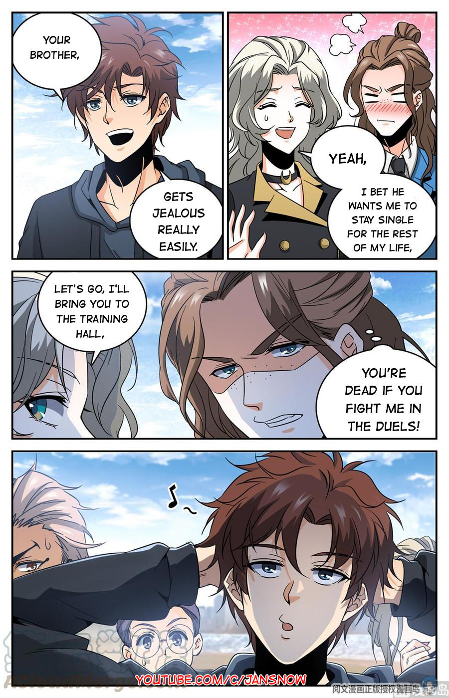 Versatile Mage Chapter 633 page 4 - Mangakakalots.com