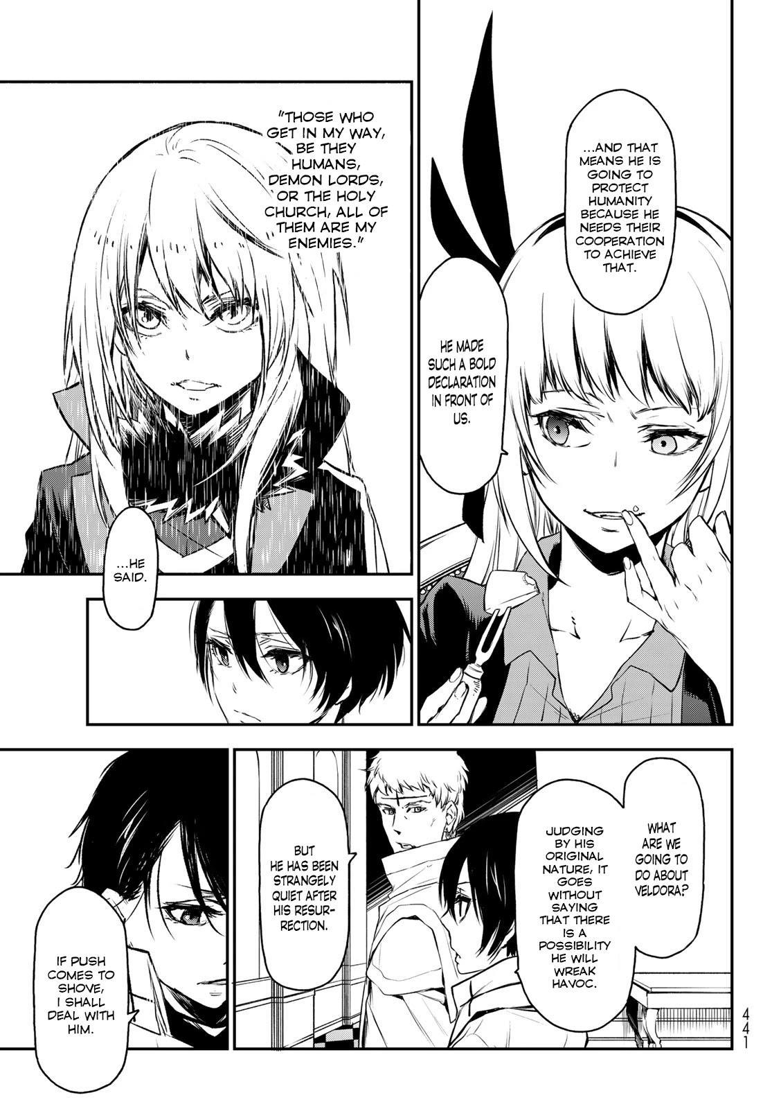 Tensei Shitara Slime Datta Ken Chapter 87: God's Right Hand page 31 - Mangakakalots.com
