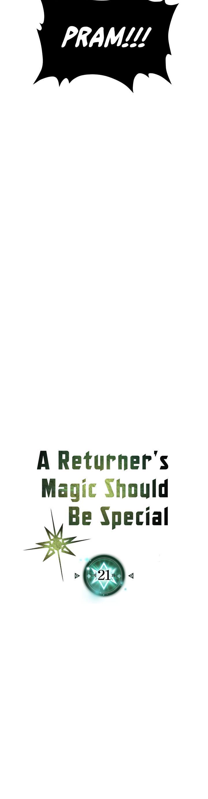 A Returner's Magic Should Be Special Chapter 21 page 3 - Mangakakalots.com
