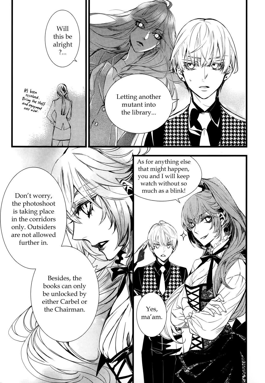 Vampire Library Chapter 36 page 10 - Mangakakalots.com