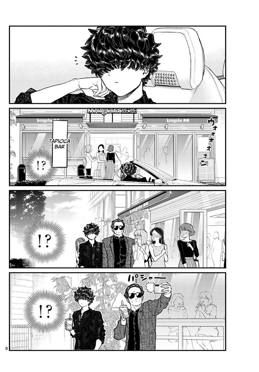 Komi-San Wa Komyushou Desu Chapter 215: A Day Of A Father And Son page 8 - Mangakakalot