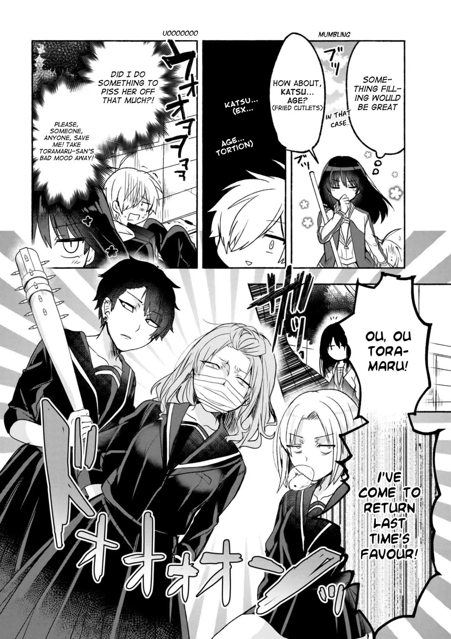 Pashiri Na Boku To Koi Suru Banchou-San Chapter 1 page 9 - Mangakakalots.com