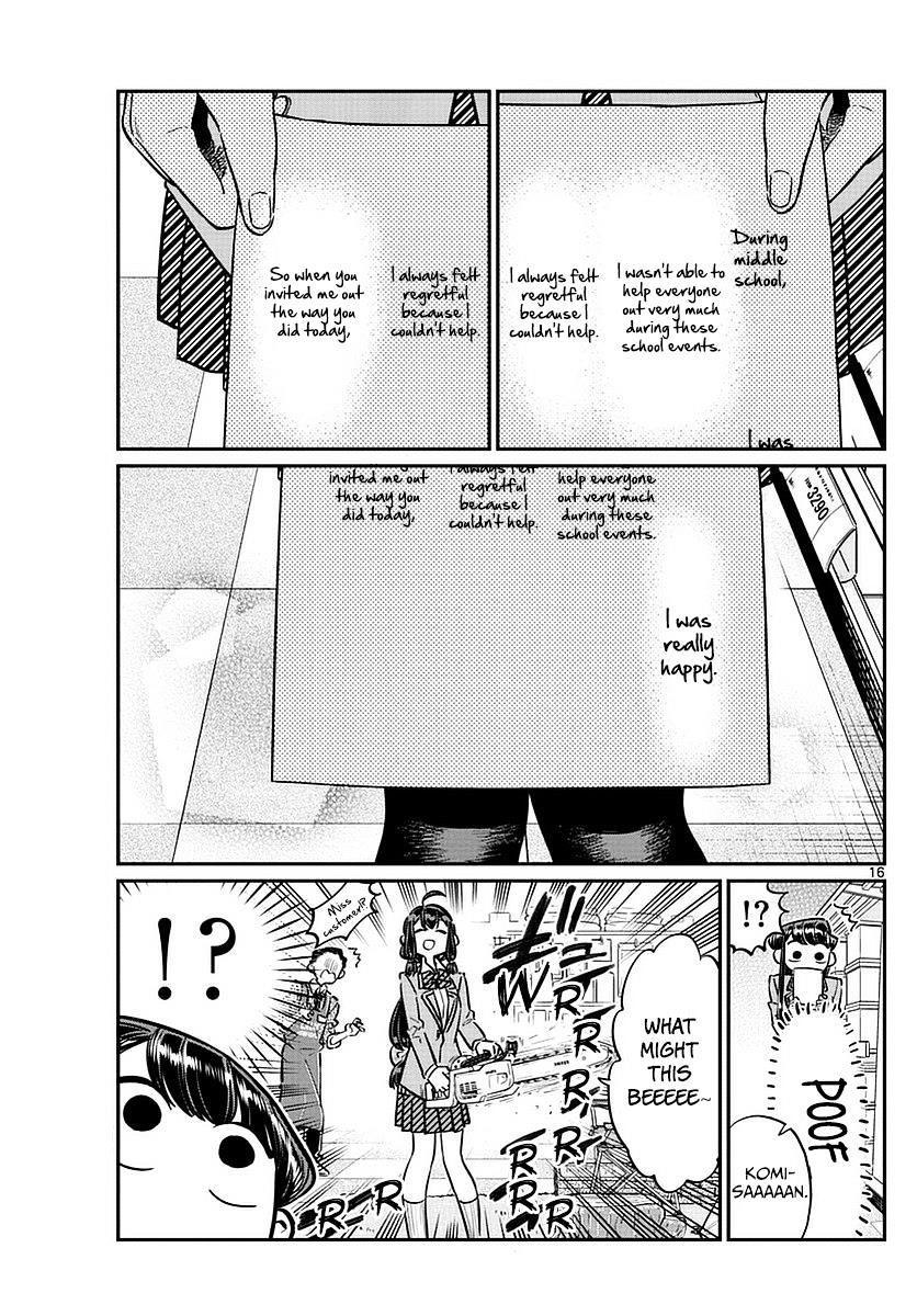 Komi-San Wa Komyushou Desu Vol.5 Chapter 64: Culture Festival Preparations page 17 - Mangakakalot