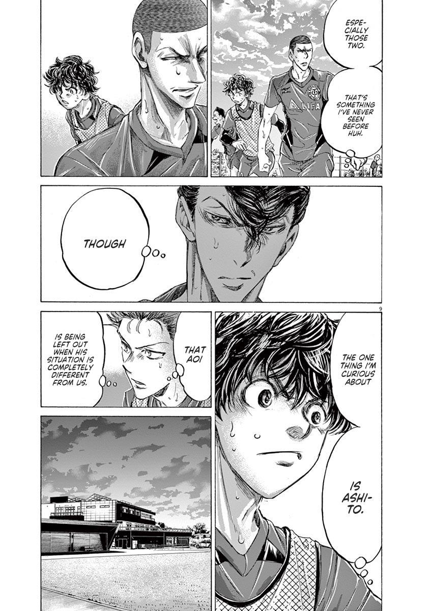 Ao Ashi Vol.21 Chapter 212: Ashito's Situation page 9 - Mangakakalots.com