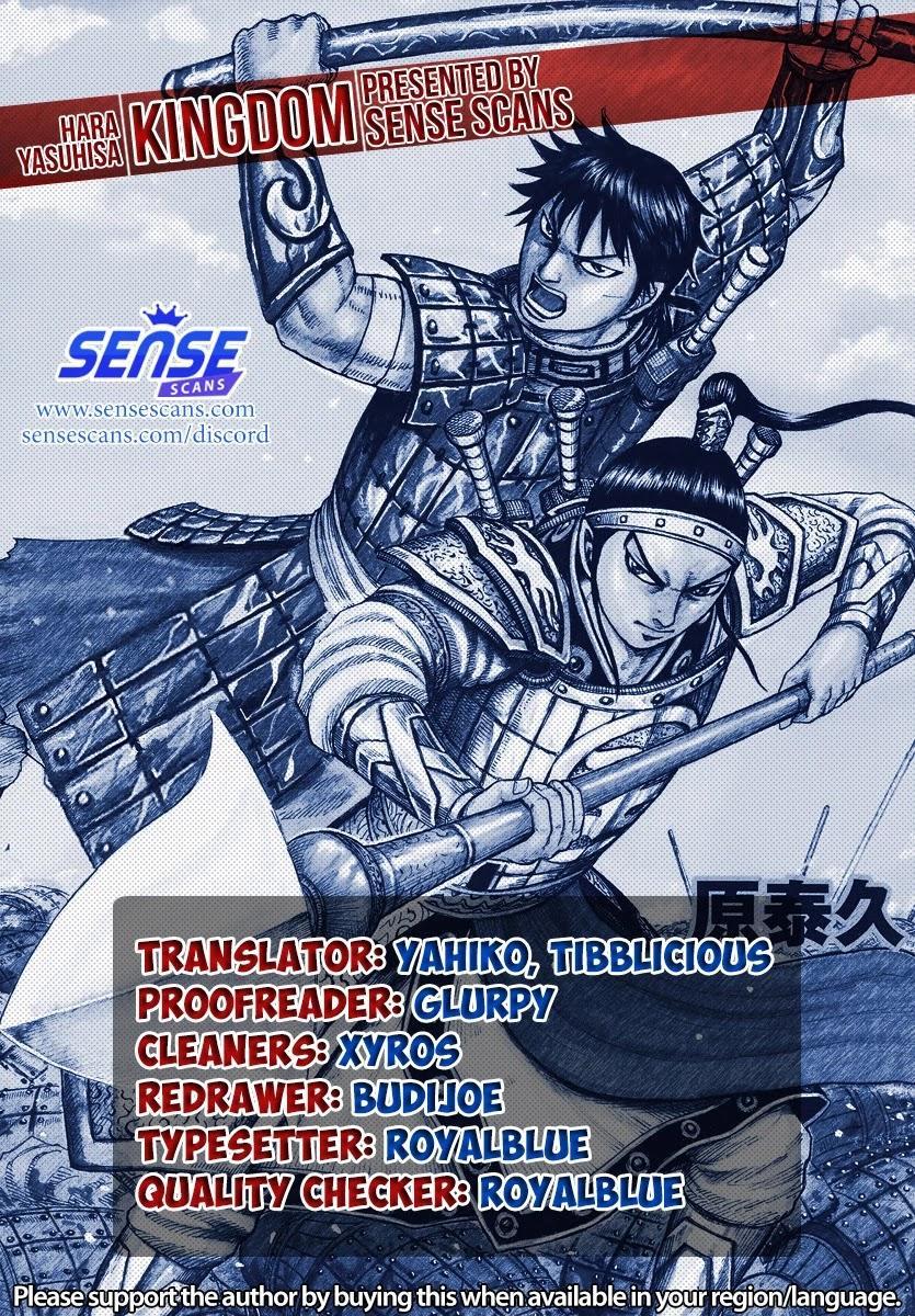 Kingdom Chapter 690: According To Plan page 1 - Mangakakalot