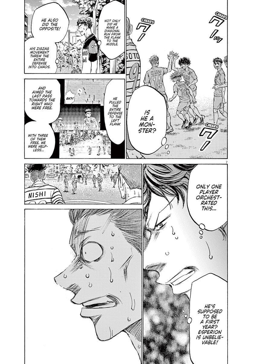 Ao Ashi Vol.11 Chapter 114: Crowd page 6 - Mangakakalots.com