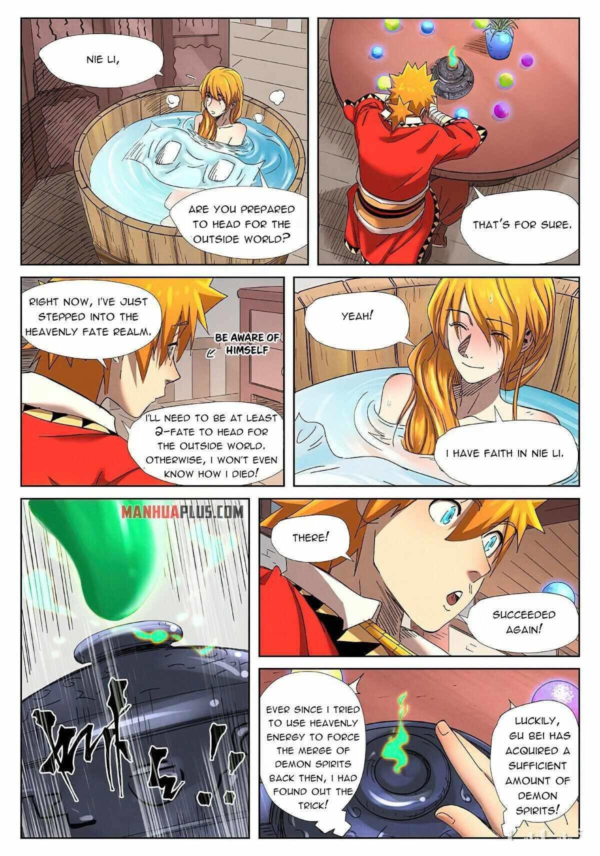 Tales Of Demons And Gods Chapter 343.5 page 9 - Mangakakalot