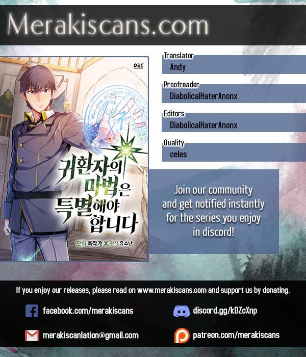 A Returner's Magic Should Be Special Chapter 19 page 1 - Mangakakalots.com