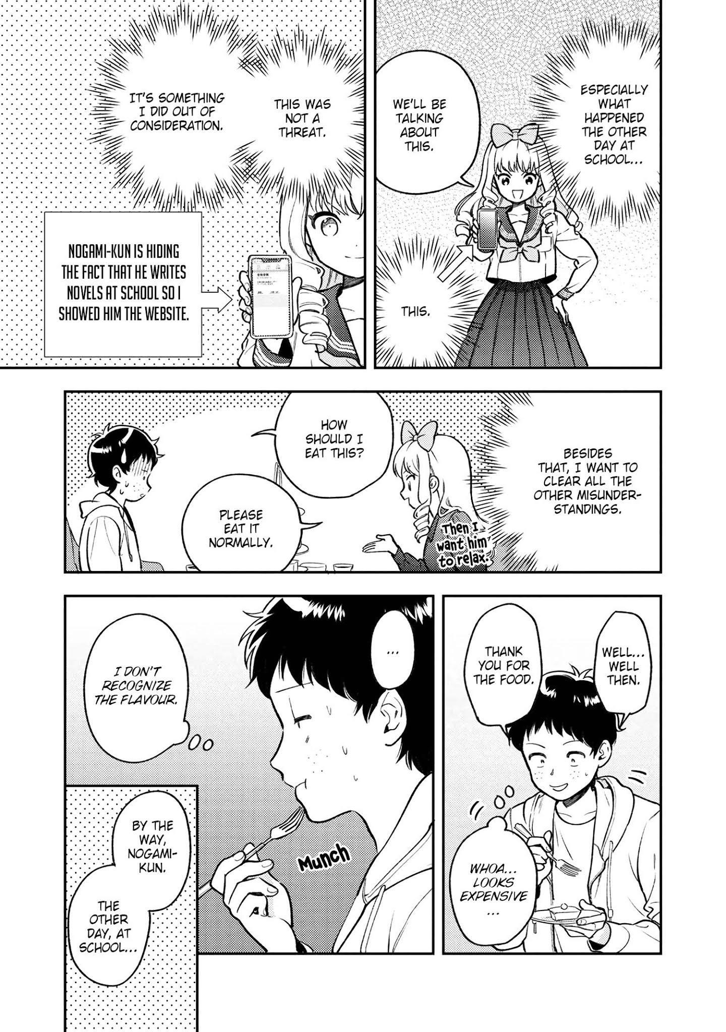 Houjou Urara No Renai Shousetsu O Kaki Nasai! Chapter 7 page 11 - Mangakakalots.com