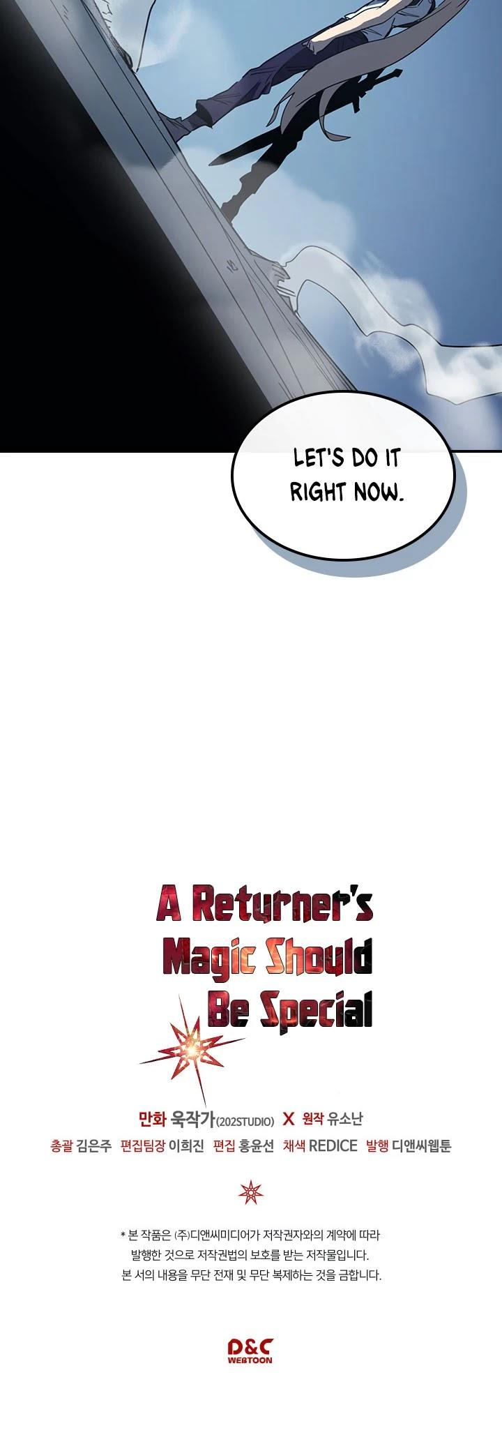 A Returner's Magic Should Be Special Chapter 103 page 40 - Mangakakalots.com