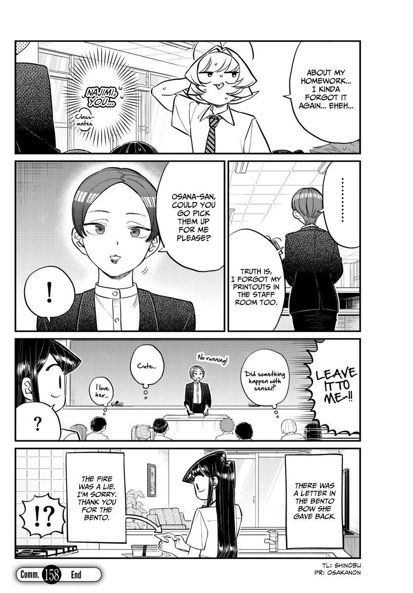 Komi-San Wa Komyushou Desu Vol.12 Chapter 158: Sensei page 18 - Mangakakalot
