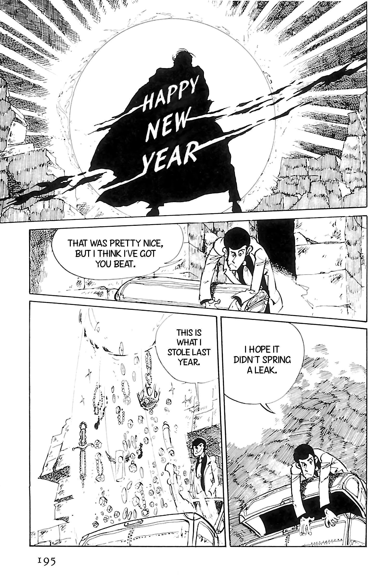 Lupin Iii: World'S Most Wanted Vol.11 Chapter 124: Happy New Year, Lupin! page 17 - Mangakakalots.com
