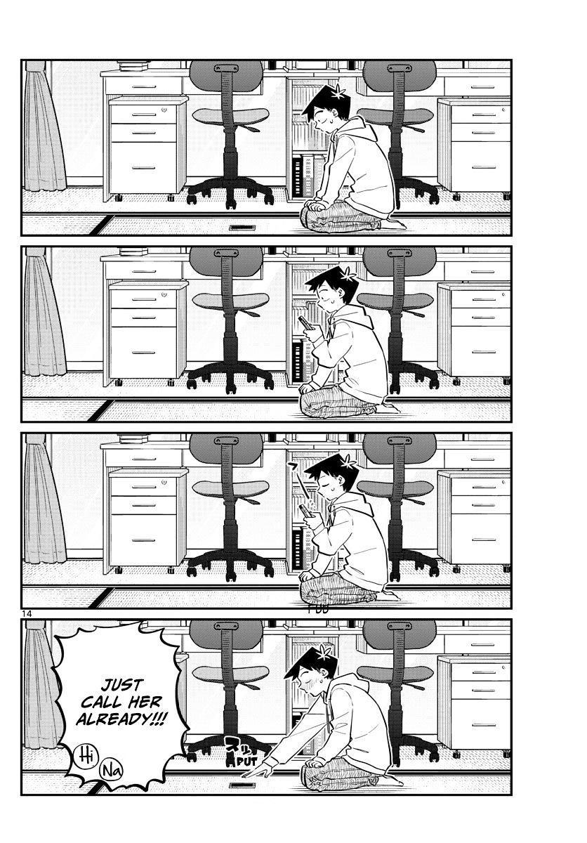 Komi-San Wa Komyushou Desu Vol.7 Chapter 94: Everyone's New Year page 14 - Mangakakalot