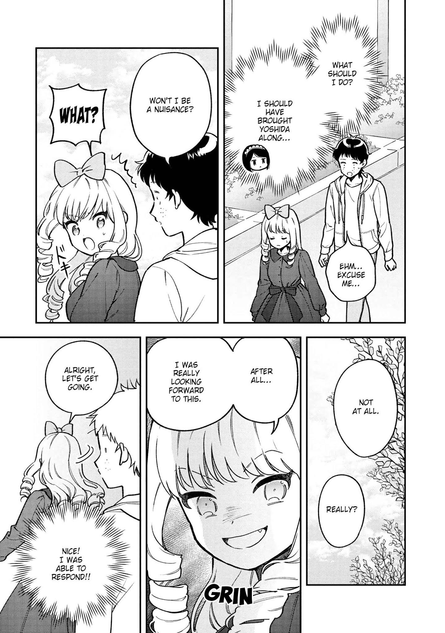 Houjou Urara No Renai Shousetsu O Kaki Nasai! Chapter 7 page 5 - Mangakakalots.com