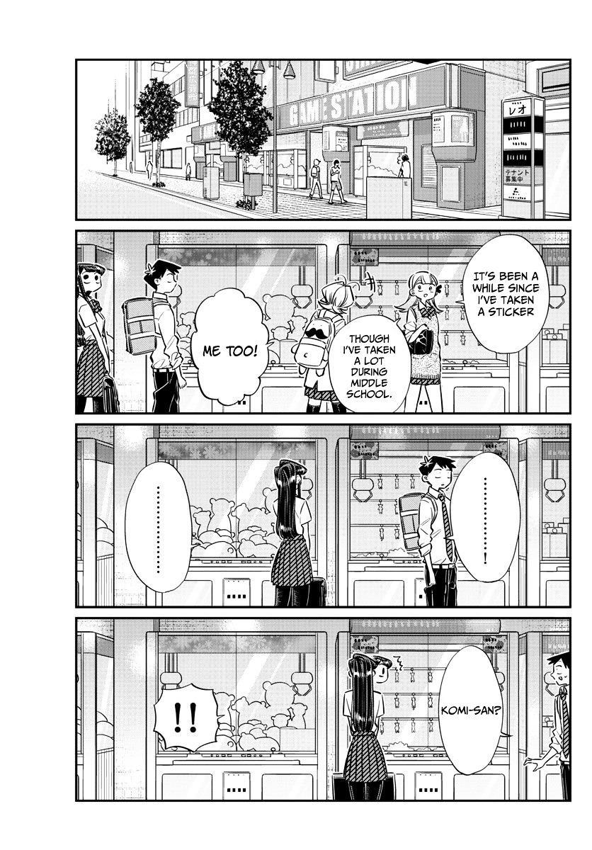 Komi-San Wa Komyushou Desu Vol.4 Chapter 57: Photo Stickers page 5 - Mangakakalot
