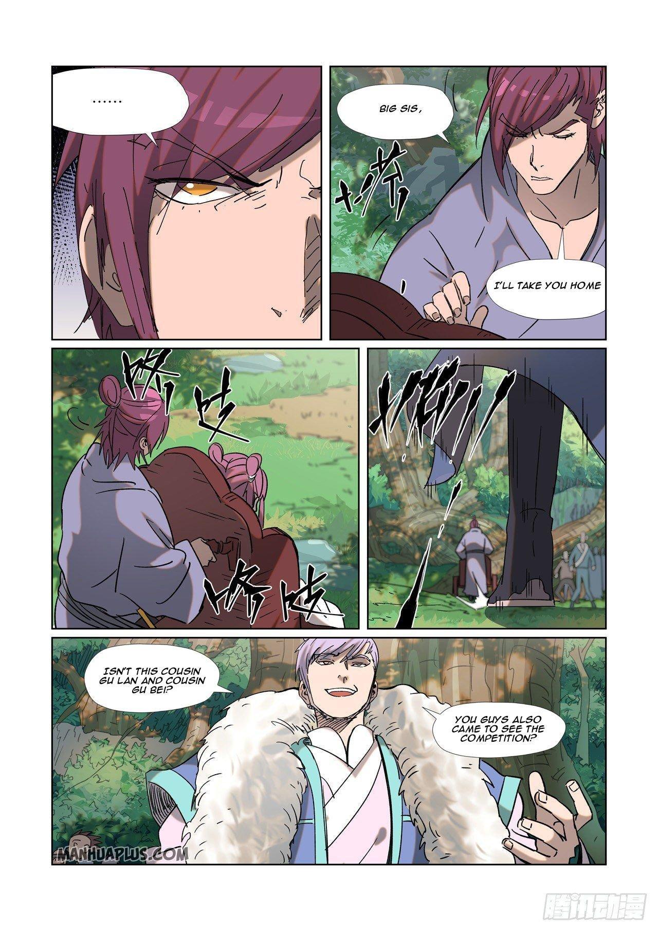 Tales Of Demons And Gods Chapter 314.5 page 9 - Mangakakalots.com