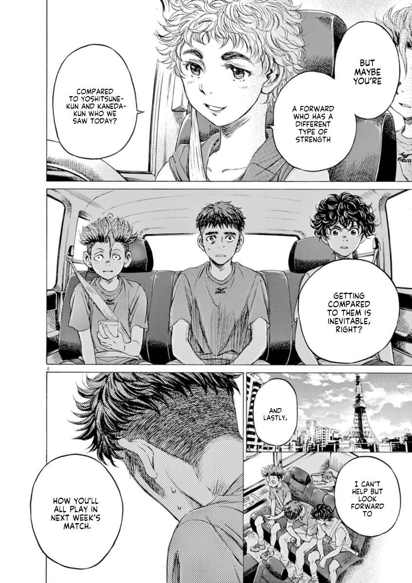 Ao Ashi Vol.9 Chapter 88: Best Lineup page 4 - Mangakakalots.com
