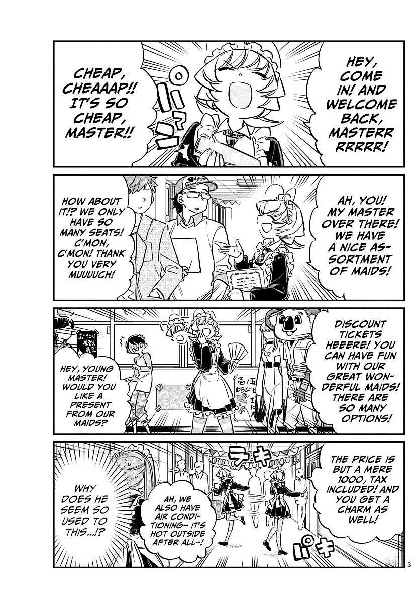 Komi-San Wa Komyushou Desu Vol.5 Chapter 69: Najimi-Chan's Maid Cafe page 3 - Mangakakalot