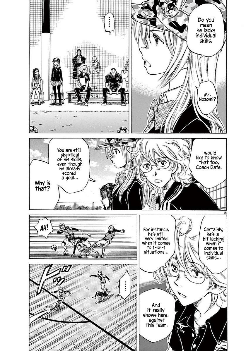 Ao Ashi Vol.4 Chapter 31: Taunt page 15 - Mangakakalots.com