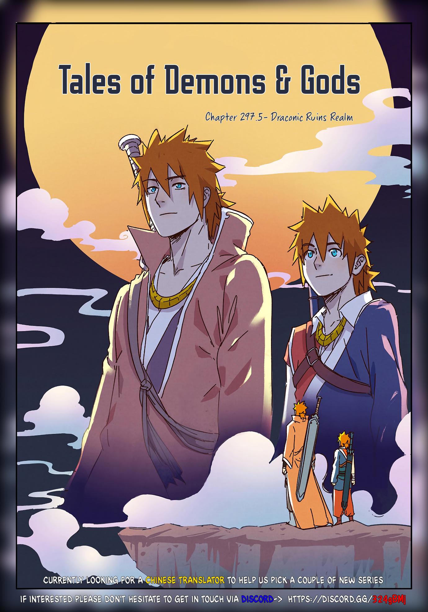 Tales Of Demons And Gods Chapter 297.5 page 1 - Mangakakalots.com