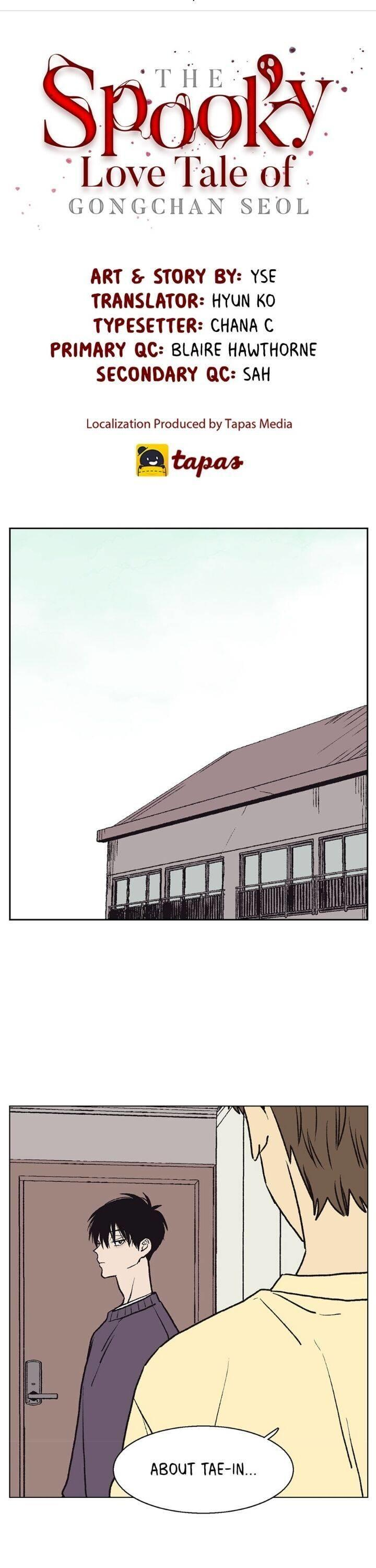 The Spooky Love Tale Of Gongchan Seol Chapter 50 page 2 - Mangakakalots.com