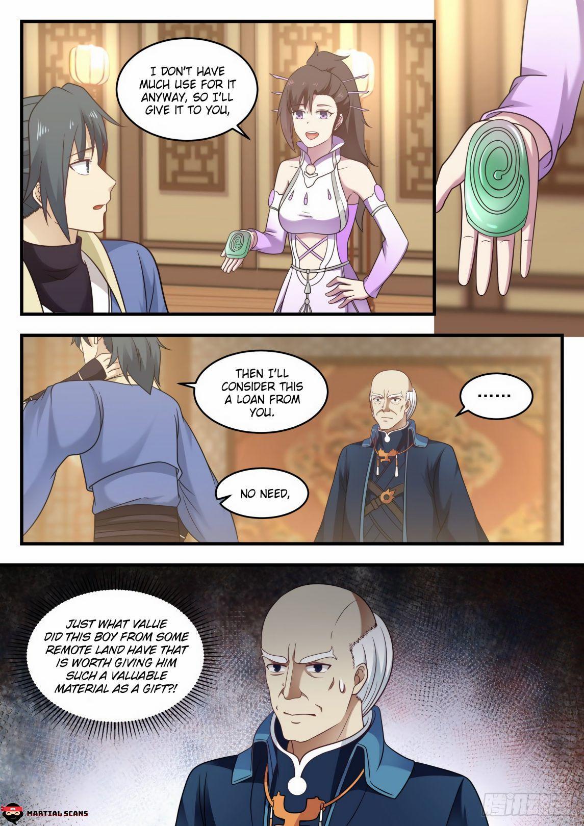 Martial Peak Chapter 592 page 12 - Mangakakalots.com
